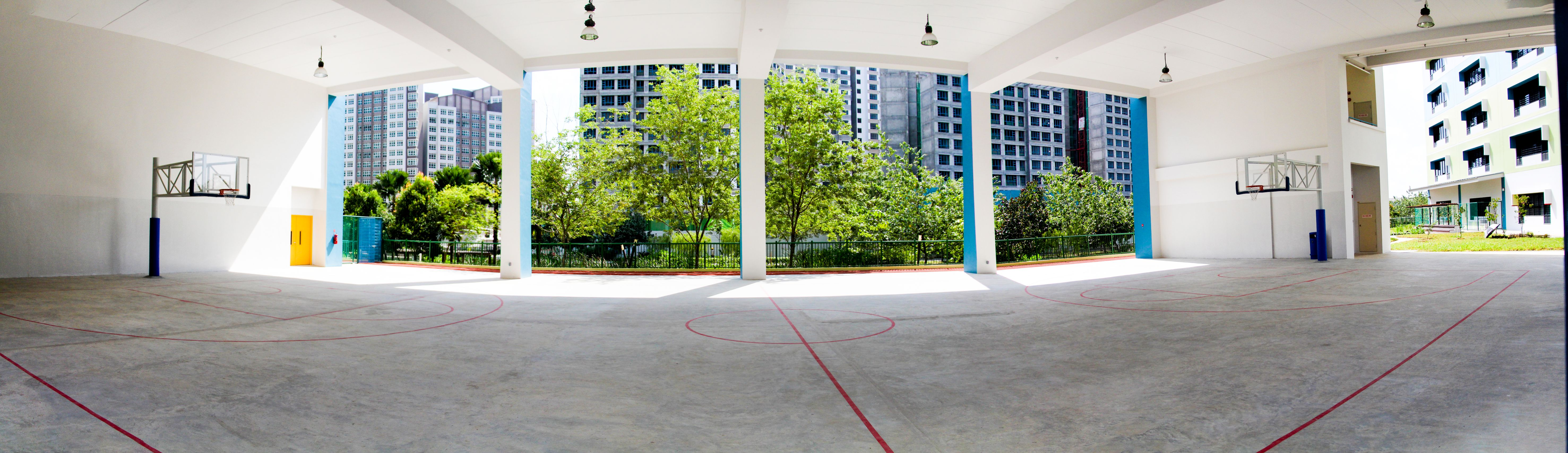 Image of Basketball Court