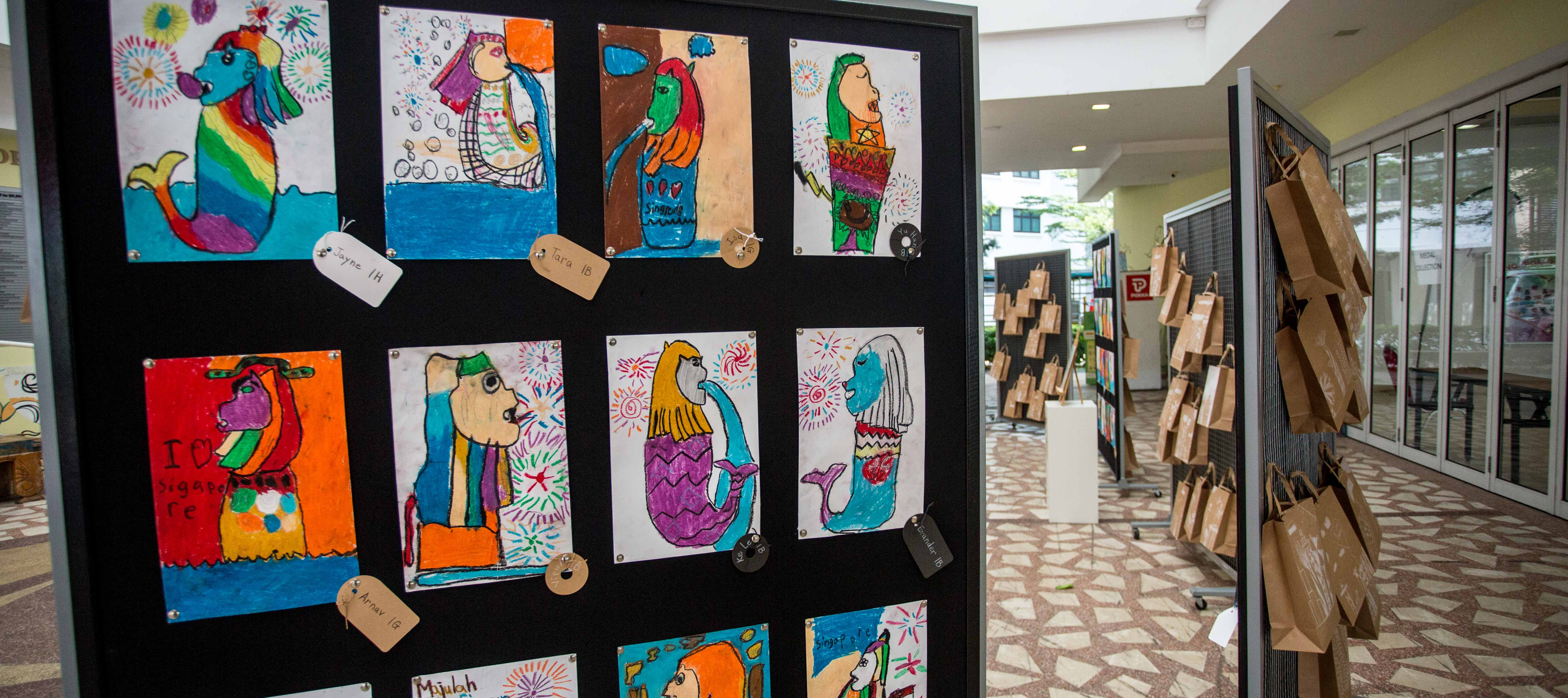 image of art work displayed at Punggol 21 CC
