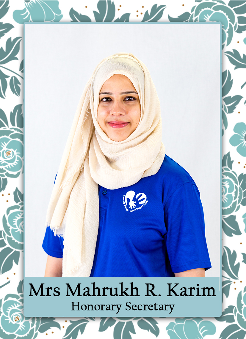 Mrs Karim (Honorary Secretary)